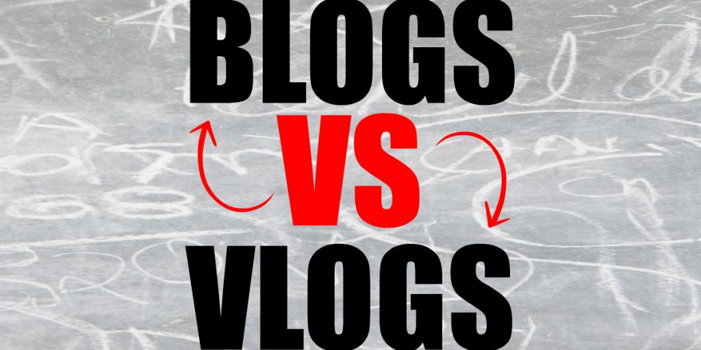 Image result for blogger vs vlogger