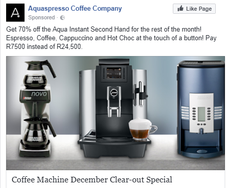 coffee facebook ad 2