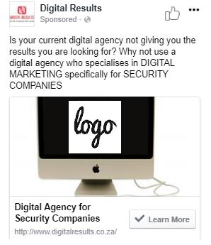 facebook sniper targeting ad