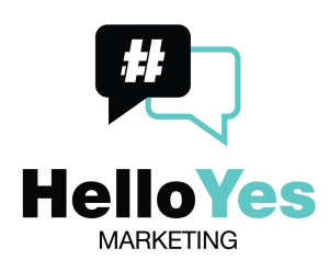 helloyes marketing logo