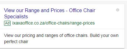 Ixaxa Chair Generic